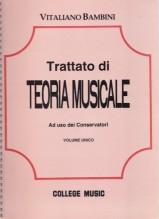 Bambini, V. : Trattato di teoria musicale