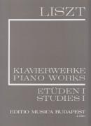 Liszt, Franz : Studi per Pianoforte, vol. I: 12 studi trascendentali