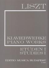 Liszt, F. : Studi per Pianoforte, vol. I: 12 studi trascendentali