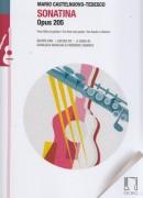 Castelnuovo-Tedesco, M. : Sonatina op. 205, per Flauto e Chitarra