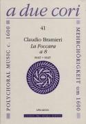 """Bramieri, C. : """"La Foccara"""" per 8 strumenti in 2 cori (SSSSAATT)"""