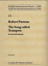 Parsons, R. : The song called Trumpets per 6 strumenti (Viole da Gamba o Flauti dolci)