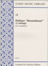 Anonimi : Hoftanz Benzenhauer (2 settings)  per 5 strumenti