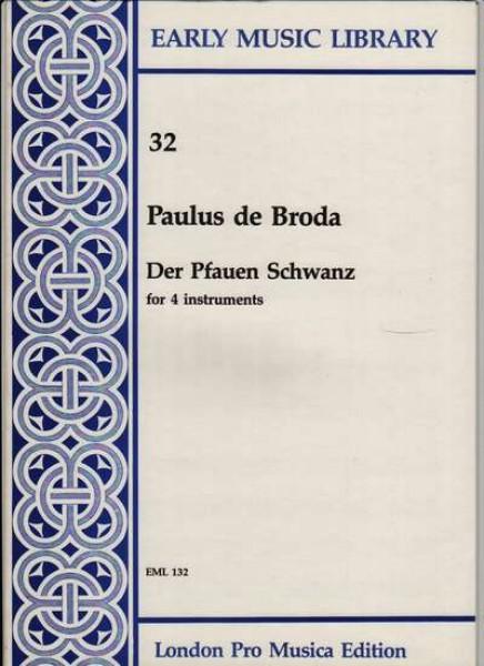 Broda, P. de : Der Pfauen Schwanz per 4 strumenti