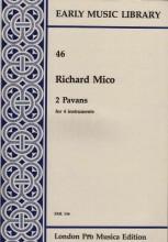 Mico, R. : 2 Pavans per 4 strumenti (SSAB) (Thomas)