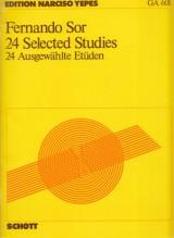 Sor, F. : 24 studi scelti, per Chitarra