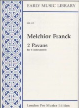 Franck, M. : 2 Pavans per 6 strumenti (SSATTB) (Thomas)