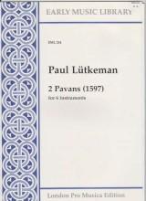 Lütkeman, P. : 2 Paduanen (1597) per 6 strumenti (SSATTB) (Thomas)