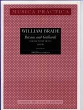 Brade, W. : Pavans and Galliards (1614) per 6 strumenti. Partitura