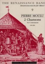 Moulu, P. : 2 chansons per 6 Voci o strumenti