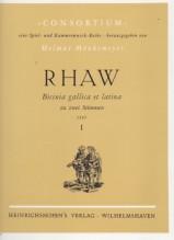 Rhaw, G. : Bicinia gallica et latina I (1545), per 2 Voci o Strumenti