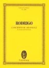Rodrigo, Joaquín : Concierto de Aranjuez, partitura tascabile