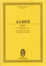 Bach, J.S. : Messa in si minore BWV 232. Partitura tascabile