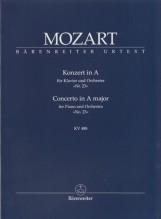 Mozart, Wolfgang Amadeus : Concerto KV 488 per Pianoforte e Orchestra. Partitura tascabile. Urtext