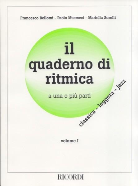 AA.VV. : Il quaderno di ritmica a una o più parti, vol. I: classica, leggera, jazz