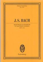 Bach, J.S. : Passione secondo Matteo. Partitura tascabile