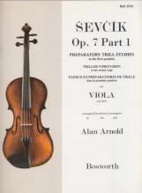 Sevcik, O. : Op. 7 parte 1. Esercizi preparatori di trillo per Viola