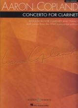 Copland, A. : Concerto per Clarinetto e Orchestra d'Archi, riduzione per Clarinetto e Pianoforte