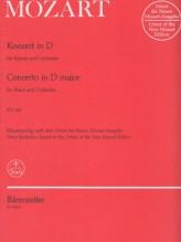Mozart, W.A. : Concerto per Pianoforte e Orchestra in re KV 451, Riduzione per 2 Pianoforti. Urtext