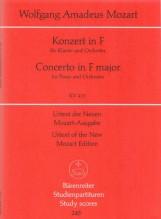 Mozart, Wolfgang Amadeus : Concerto per Pianofore e Orchetra KV 413. Partitura tascabile. Urtext
