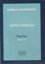 Poltronieri, N.  : Dettati musicali, I parte (dettati 1/15) CD