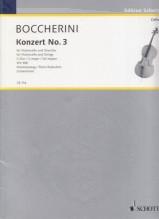 Boccherini, L. : Concerto in sol per Violoncello e Orchestra, riduzione per Violoncello e Pianoforte