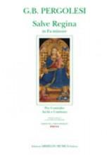 Pergolesi, G.B. : Salve Regina in fa minore, per Contralto, Archi e Basso continuo. Partitura + parti