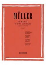 Müller, I. : 30 Studi in tutte le tonalità, per Clarinetto