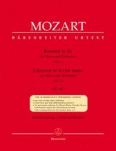 Mozart, Wolfgang Amadeus : Concerto per Corno e Orchestra K 447, riduzione per Corno e Pianoforte. Urtext