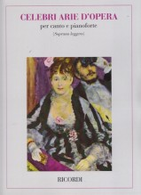 AA.VV. : Celebri arie d'Opera, per Soprano leggero