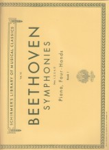 Beethoven, L. van : Sinfonie arrangiate per Pianoforte a 4 mani, vol. 1
