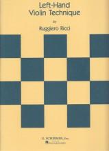 Ricci, R. : Tecnica della mano sinistra, per Violino