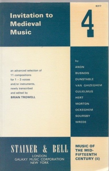AA.VV. : Invitation to the Medieval Music, vol. IV