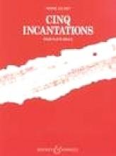 Jolivet, André : 5 Incantations, per Flauto