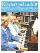 AA.VV. : Pezzi facili per Pianoforte a 6 mani, vol. I