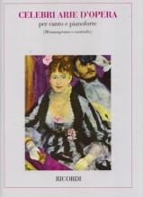 AA.VV. : Celebri arie d'Opera, per Mezzosoprano e Contralto e Pianoforte