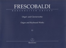 Frescobaldi, G. : New Edition of the Complete Organ and Keyboard Works Volume I.1: Recercari, et Canzoni franzese. Urtext