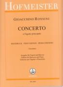 Rossini, G. : Concerto a Fagotto principale, riduzione per Fagotto e Pianoforte