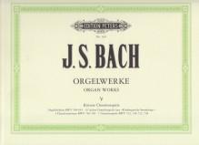 Bach, J.S. : Composizioni per Organo, vol. V