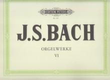 Bach, J.S. : Composizioni per Organo, vol. VI