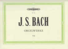 Bach, J.S. : Composizioni per Organo, vol. VII