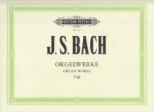 Bach, J.S. : Composizioni per Organo, vol. VIII