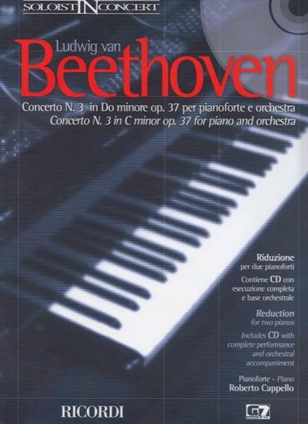 Beethoven, L. van : Concerto n. 3 per Pianoforte e Orchestra, riduzione per 2 Pianoforti + CD