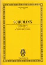 Schumann, R. : Concerto per Violino e Orchestra in re minore. Partitura tascabile