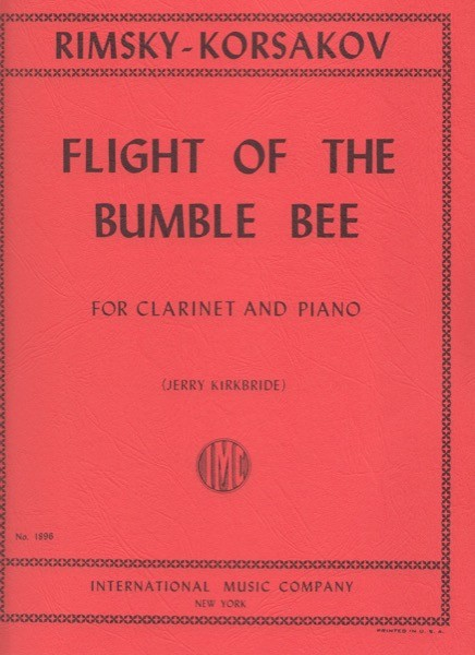 Rimski-Korsakov, N. : Il volo del calabrone, trascrizione per Clarinetto e Pianoforte