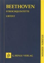 Beethoven, L. van : Quintetti d'Archi, partitura tascabile. Urtext