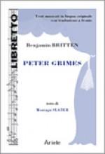 Britten, B. : Peter Grimes, libretto con testo originale a fronte