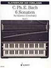 Bach, C.P.E. : 6 Sonate per Clavicembalo, vol. I