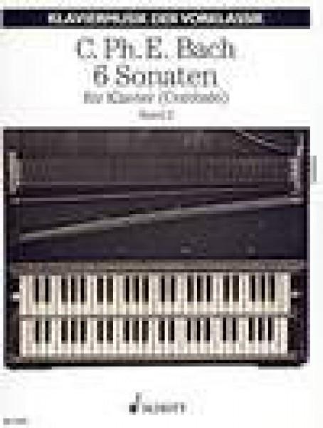 Bach, C.P.E. : 6 Sonate per Clavicembalo, vol. II